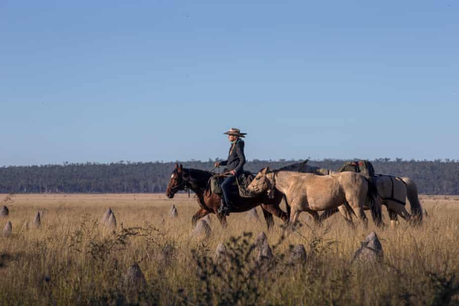 Le Gouvello riding Roxanne.