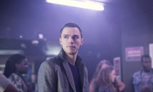 Nicholas Hoult in Kill Your Friends, 2015.