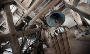 The bells and belfries of Saint Louis in need of urgent repair.
