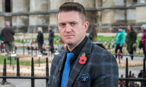 Tommy Robinson was convicted of contempt of court but was released from prison in August.