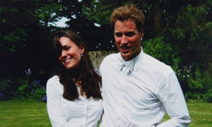 Kate Middleton and Prince William in 2005
