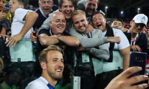 Selfie time with Harry Kane.