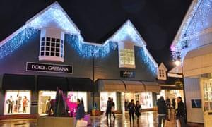 Bicester Village shopping centre