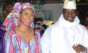 Jaha Dukureh, who spearheaded anti-FGM campaign, meets Yahya Jammeh to discuss his ban announcement, which some have cast doubt on