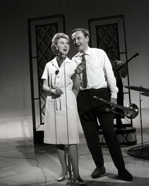 Ottilie Patterson and Chris Barber.
