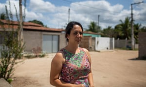 Francine Farias, a teacher and community leader in Loteamento Alameda das Árvores, a rundown settlement on the outskirts of Feira de Santana.