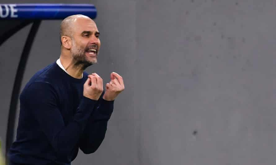 Manchester City are out in front in the Premier League but need to avoid overthinking things.