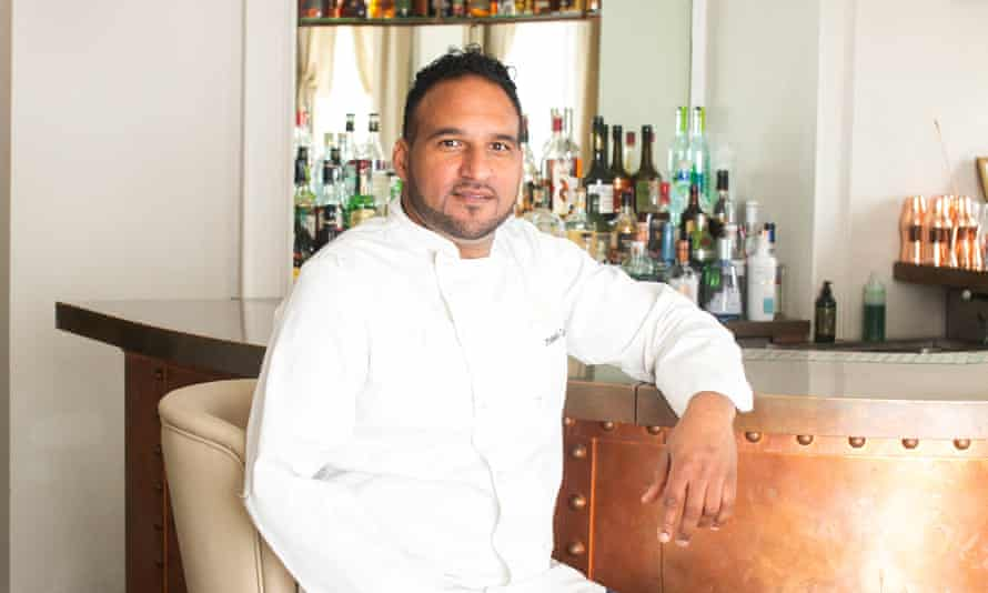 The Michelin-starred chef Michael Caines said that he faced barriers in and out of the kitchen.