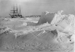 DGS Arctic frozen in the ice Fullerton Harbour Nunavut April 1905