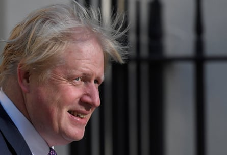 Villain of the piece ... Boris Johnson.