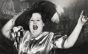 Norma Devine as Mae West at Sammy's in 1944