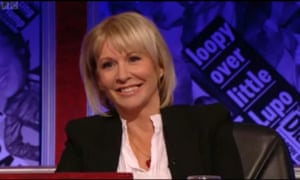 MP Nadine Dorries said she was belittled when she appeared on Have I Got News For You.