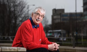 Pensioner and retired lecturer Paul Russell from Shipley, near Bradford.