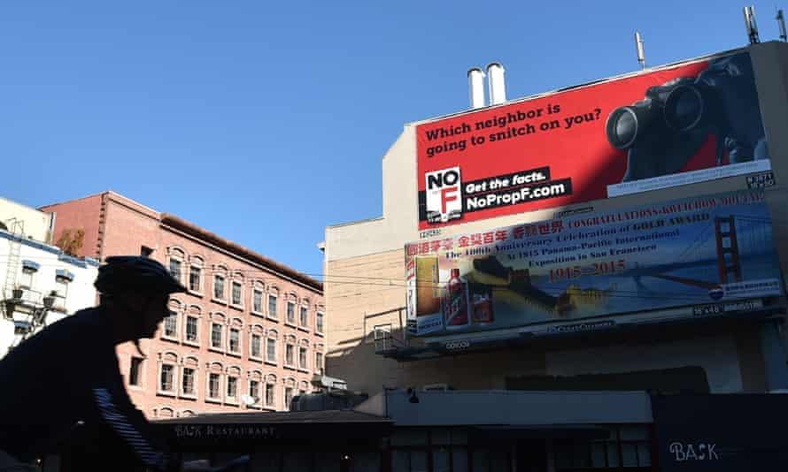 Airbnb San Francisco billboard.