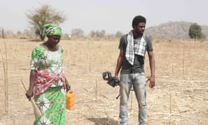 Yana Galang with film-maker Joel Kashi Benson, whose documentary Daughters of Chibok focuses on the enduring suffering of the mothers whose children were kidnapped by Boko Haram in April 2014