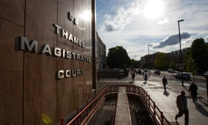 Thames Magistrate Court, London