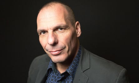Varoufakis at the Guardian live debate on Europe, where he spoke out against Brexit.