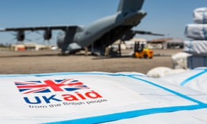 UK aid being delivered to Mozambique