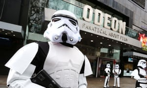 The Odeon cinema chain was among those named and shamed by the government.