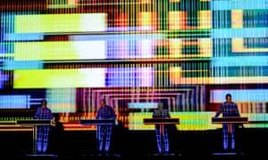 Kraftwerk live in Brighton earlier this month