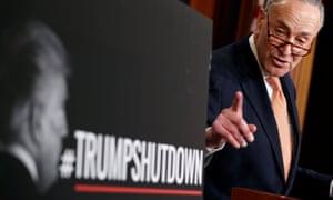 While Democrats blamed Trump, Republicans branded the impasse a 'Schumer shutdown'.