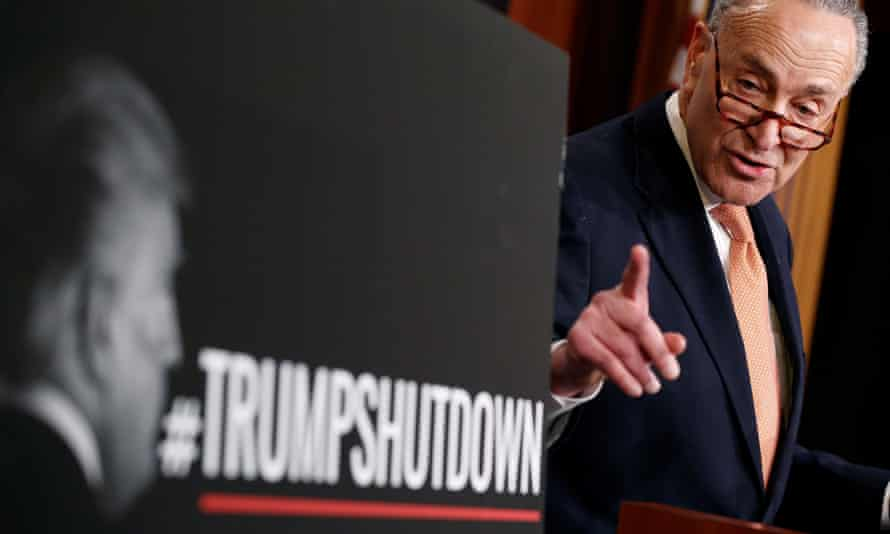 While Democrats blamed Trump, Republicans branded the impasse a 'Schumer shutdown'.