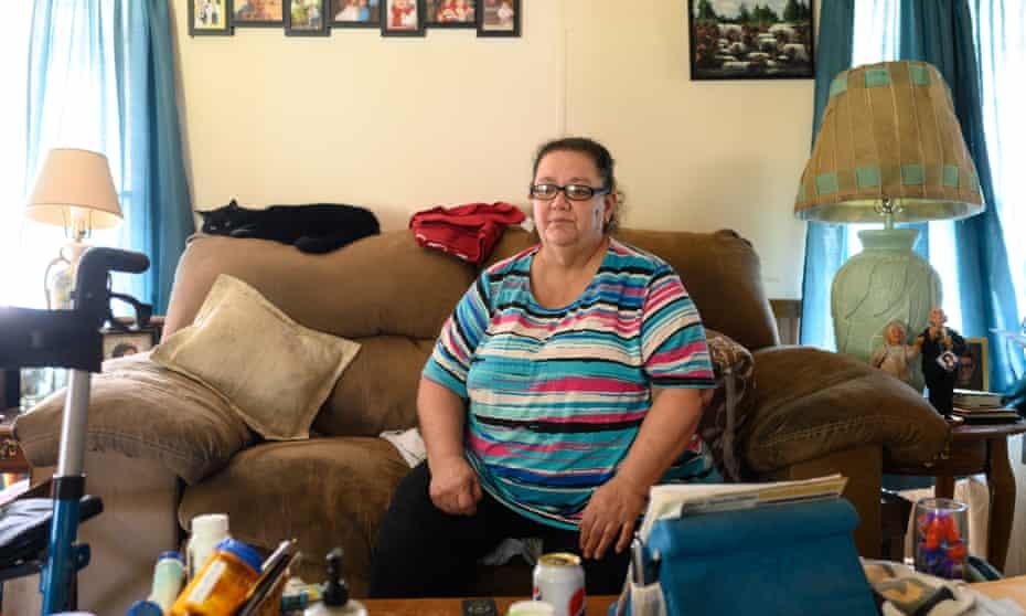 Diana Morgan Magda, 58, at home in Girard, Ohio.