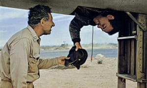 Jack Gilford and Alan Arkin in the 1970 film of Catch-22.