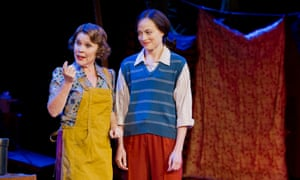 Moves you to tears … Imelda Staunton and Lara Pulver in Gypsy.