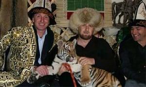 One of Ramzan Kadyrov's earlier Instagram moments.