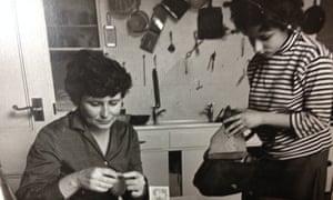 Doris Lessing and Jenny Diski in 1963