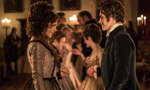 Radiant and frightening … Kate Beckinsale with Xavier Samuel in Love & Friendship.