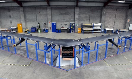 Aquila, a solar-powered drone built by Facebook, will be the star of the show at the V&A.