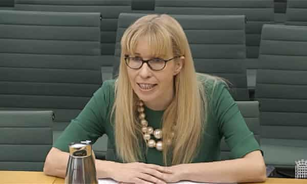 The chief executive of Ofqual, Sally Collier