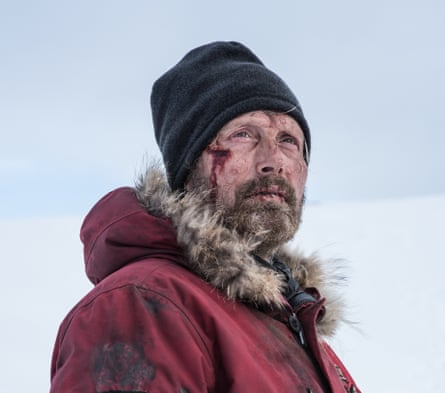 'He's a walking zombie': Mikkelsen as Overgård in Arctic