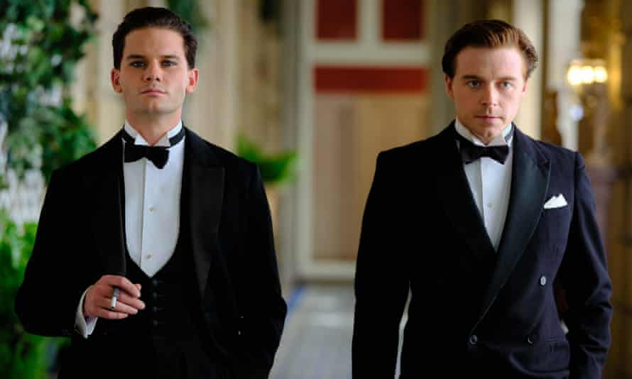 Jeremy Irvine and Jack Lowden in Benediction