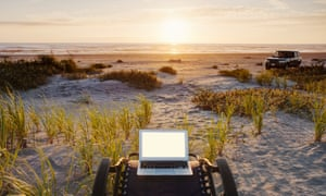 Skyping from the beach? Flexible working requires organisation and trust in your team.