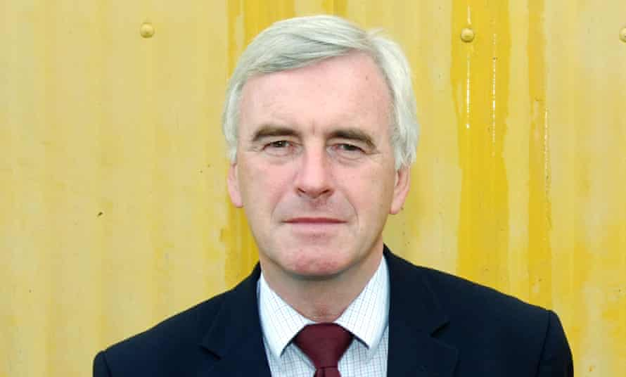 John McDonnell, Labour MP for Hayes and Harlington, has been appointed shadow chancellor.