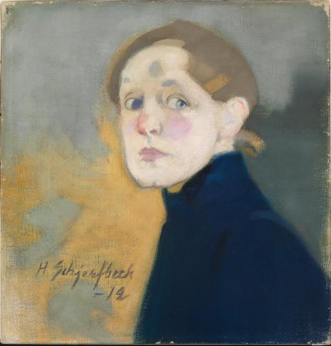 'A painting of paradoxical force': Helene Schjerfbeck's Self-Portrait, 1912.