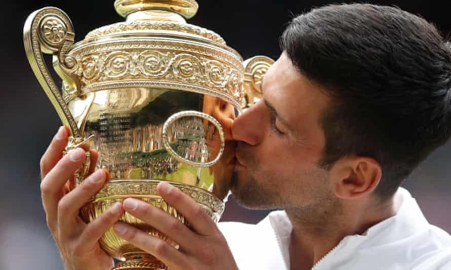Novak Djokovic's Wimbledon triumph in July