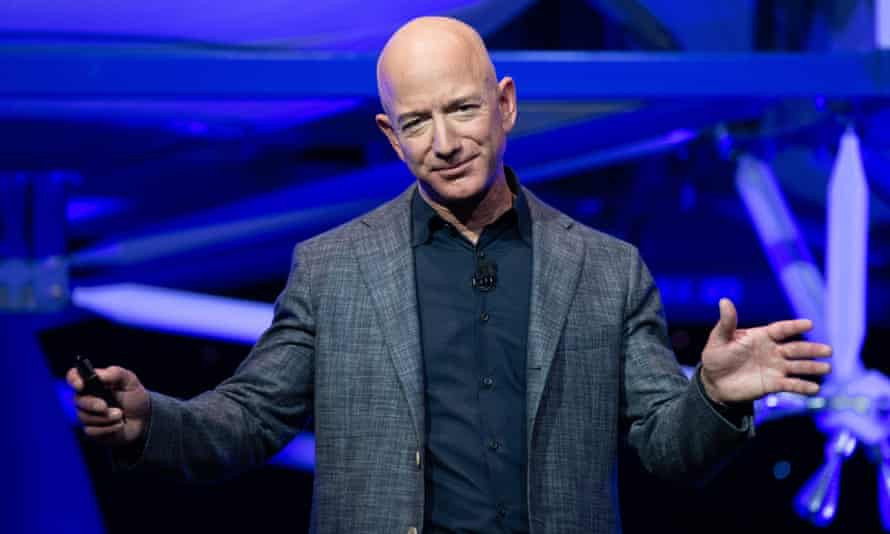 Amazon's founder, Jeff Bezos