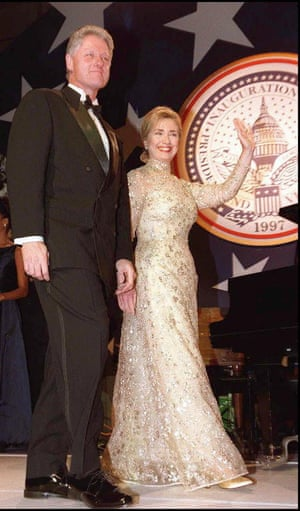 'Two presidents for the price of one' ... the Clintons