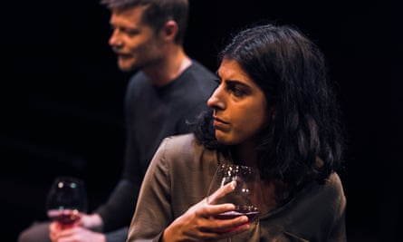 Quiet heroism … Thomas Magnusson and Lena Kaur in The Earthworks.