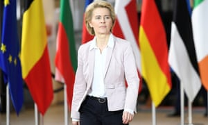 European Commission president-elect Ursula Von der Leyen is the first woman to head up the commission.