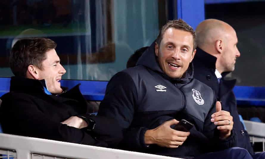 Phil Jagielka is on his way back after injury.