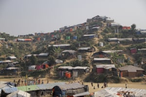 General view of Unchiprang refugee camp
