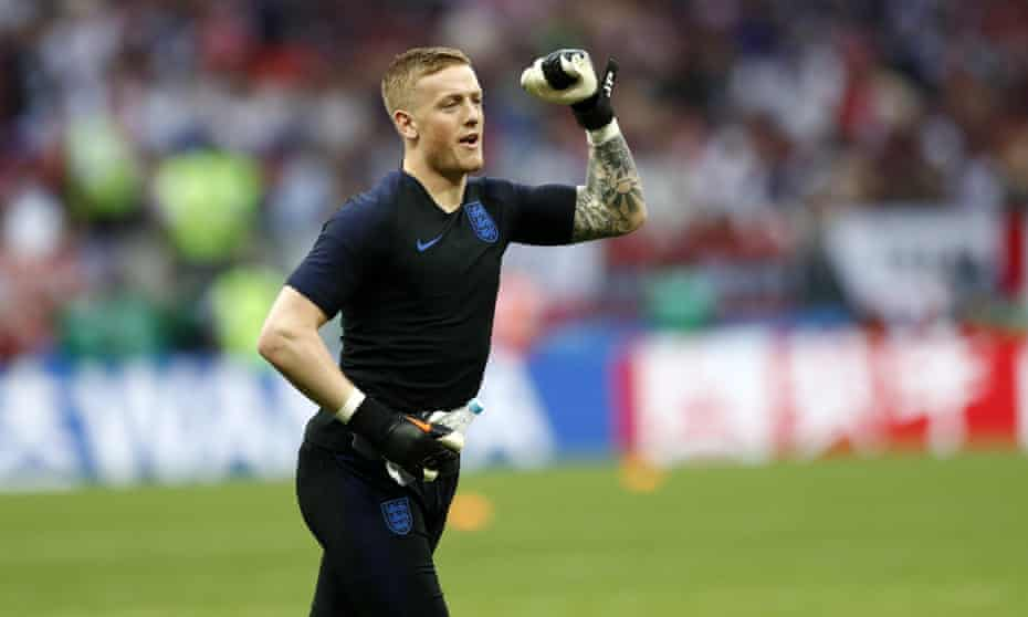 Jordan Pickford recently signed a new six-year deal at Goodison Park.