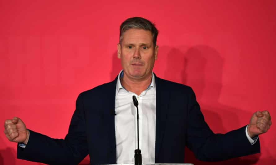 Keir Starmer during the election campaign
