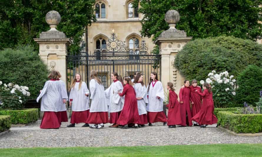St Catharine's College Girls' Choir, Cambridge.
