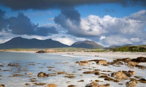 The mountains of Connemara National Park will be turned green by light artist Kari Kola on St Patrick's Day 2020.